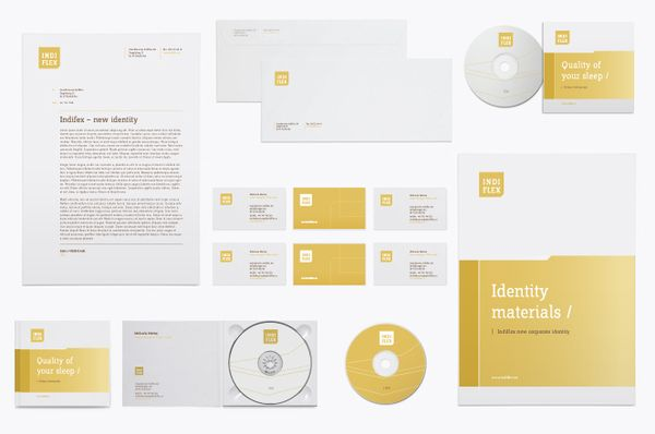 corporate identity / Indiflex by balsamstudio