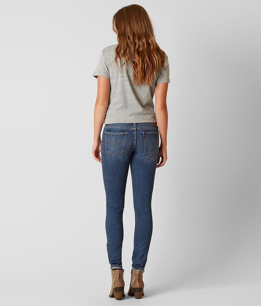 Levi S 711 Mid Rise Skinny Stretch Jean Women S Jeans In After Life Buckle Women Jeans Stretch Jeans Levi