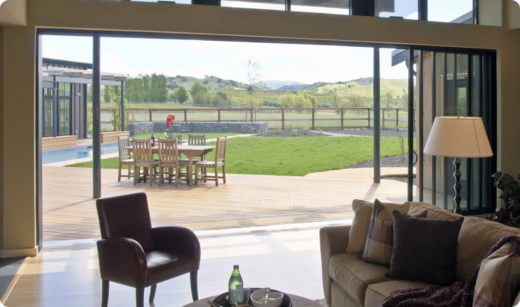 Residential Sliding Glass Doors Open Large Areas Home Design