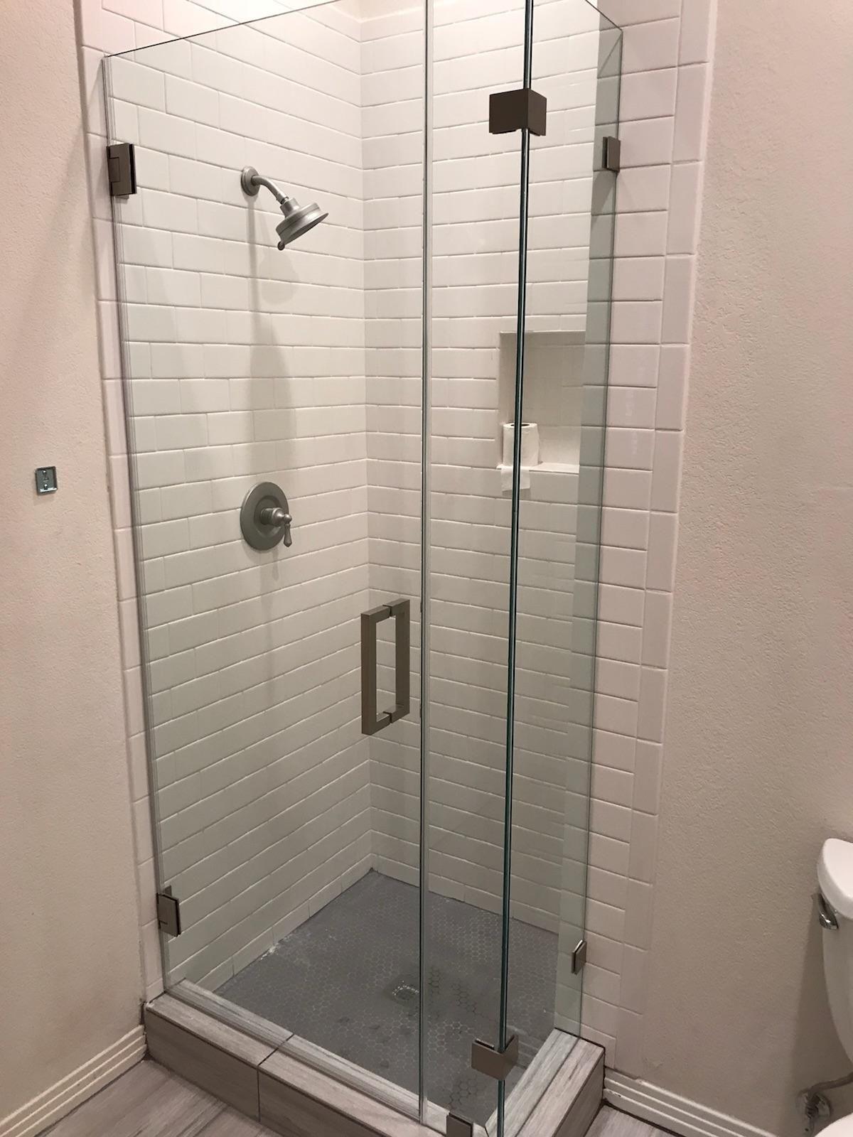 Frameless Glass Corner Shower Door Enclosure Glass Corner Shower Corner Shower Doors Shower Doors