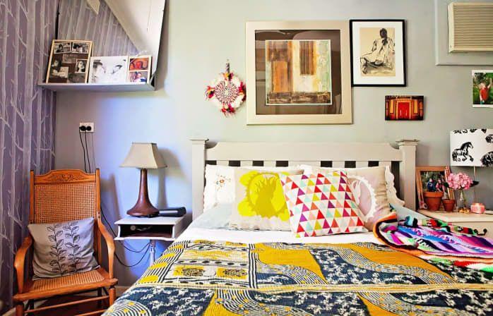Helen's Eclectic Boho Haven in 2020 | Eclectic bedroom ...