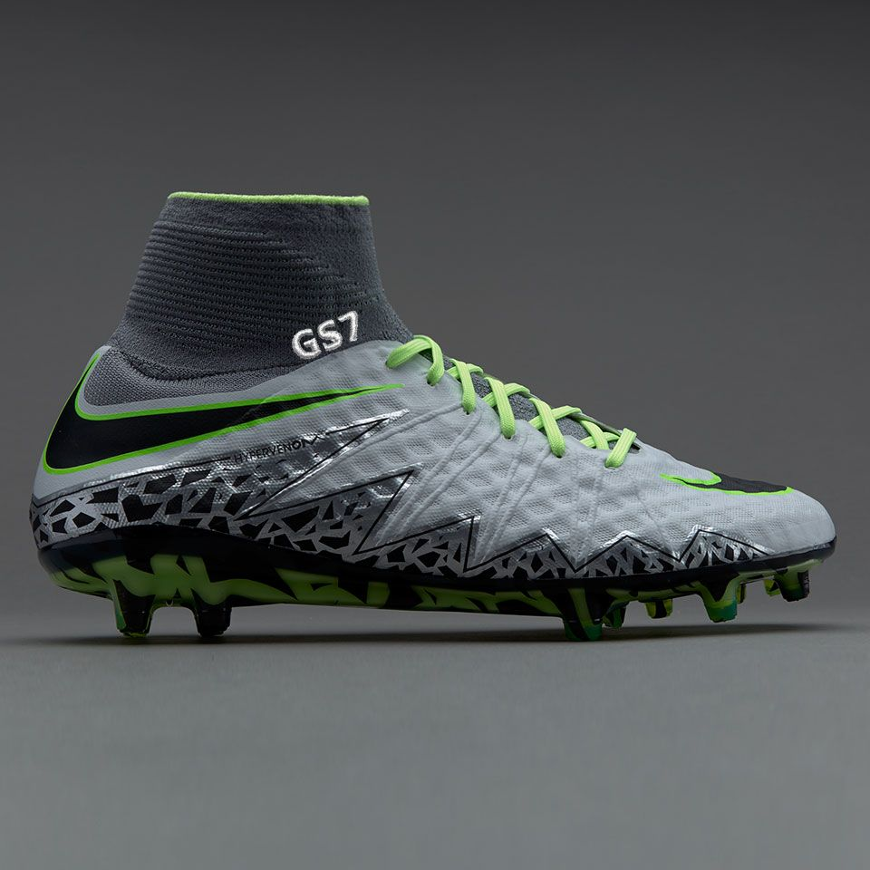Most wanted Nike Radiation Flare Hypervenom Phade III FG Children Football Boots Green 252361