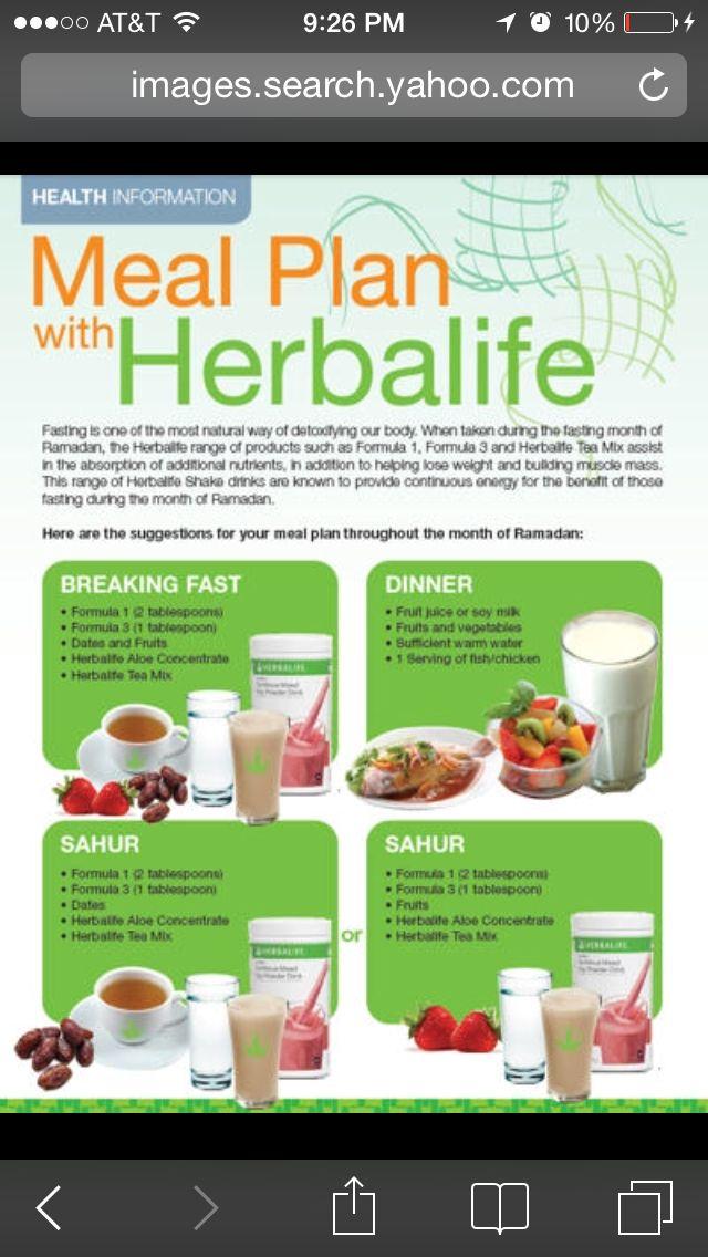 Meal Plan Herbalife Shake Recipes Herbalife Meal Plan Herbalife Recipes