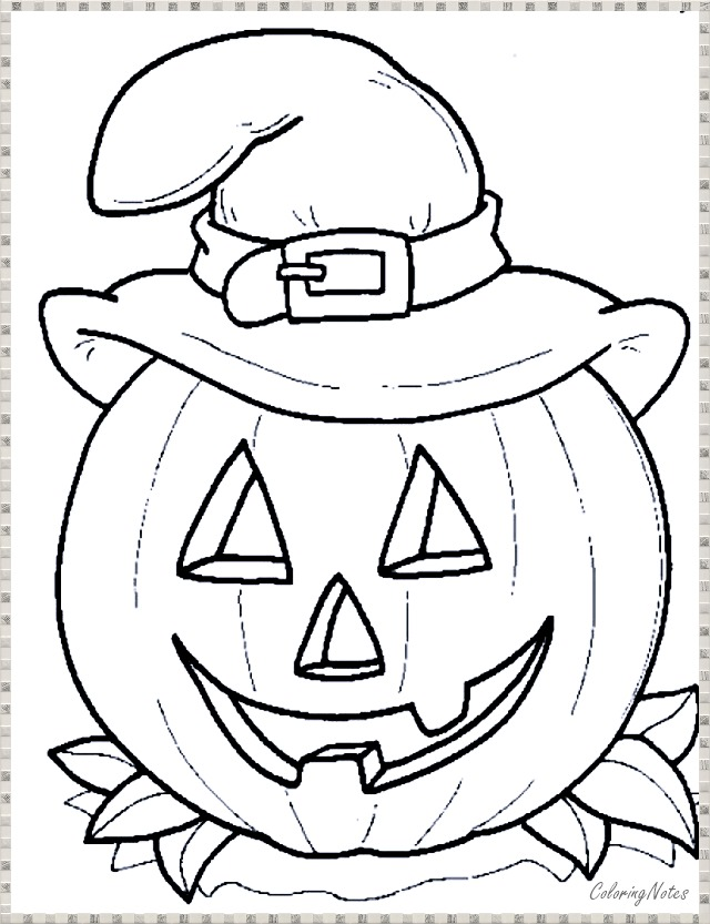 20 Halloween Coloring Pages For Kids Free Printable And Funny Free Halloween Coloring Pages Halloween Coloring Sheets Pumpkin Coloring Pages