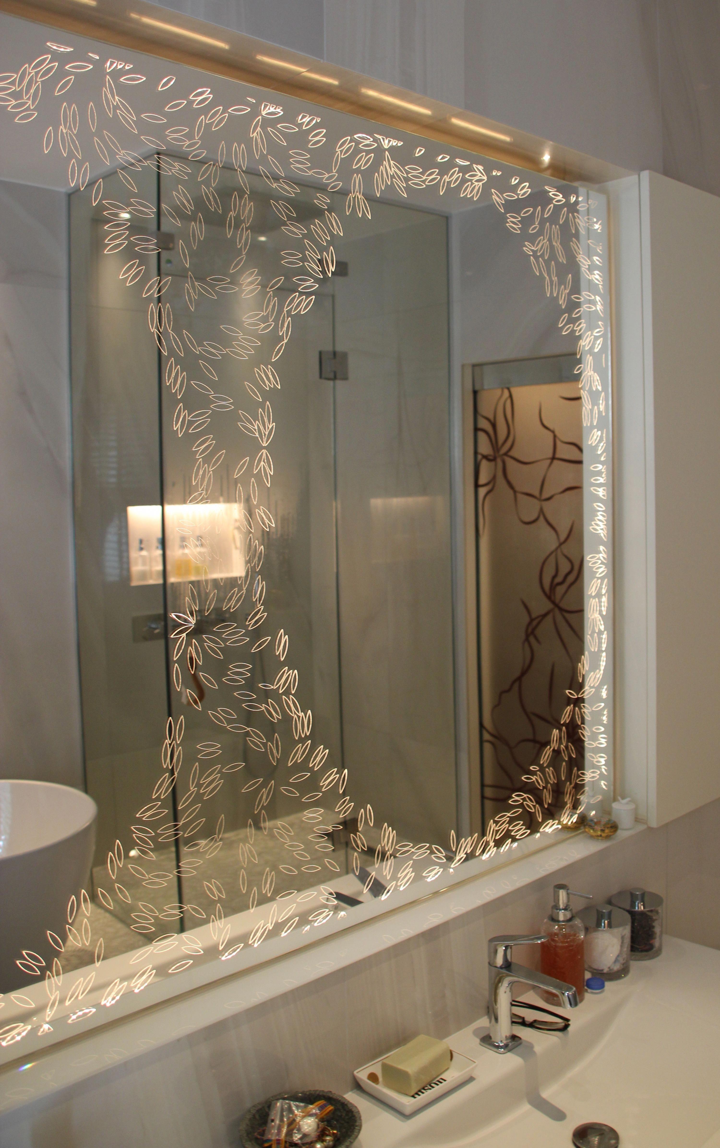Designer Bathrooms Bathroom Mirror Glass Bathroom Lit Mirror