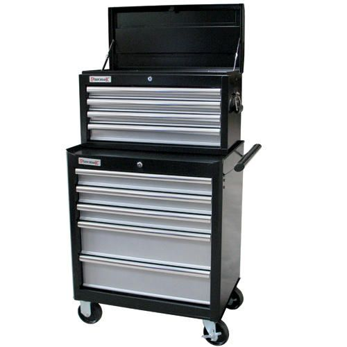 "performax 26"" tool chest & cabinet combo at menards 