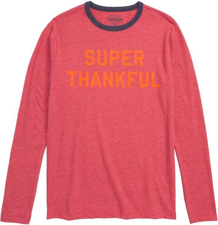 540c4671f216ea crewcuts by J.Crew Super Thankful T-Shirt