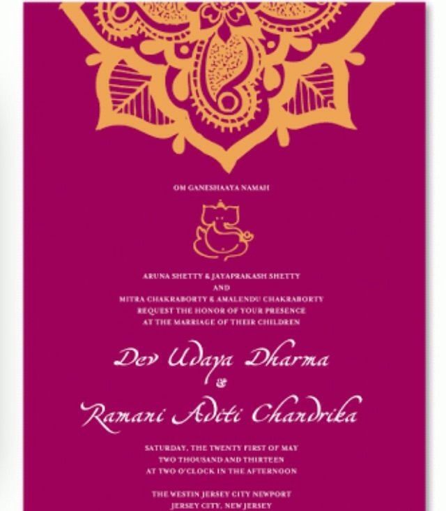 Purple and gold colour combo | Hindu Wedding Invites | Pinterest ...