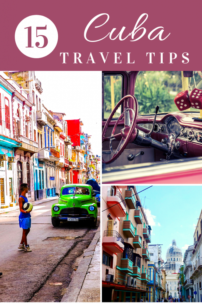 15 Things to Know Before Visiting Cuba #travelcuba #havana #cubatips