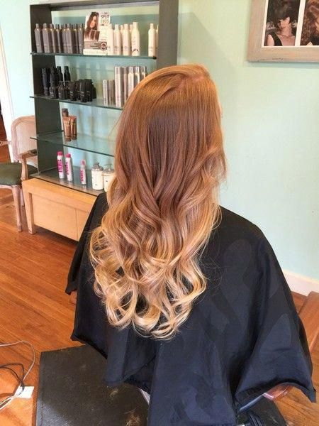 Strawberry Blonde Ombre #blondeombre
