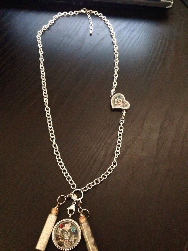 All Together On An Origami Owl Over The Heart Chain Living