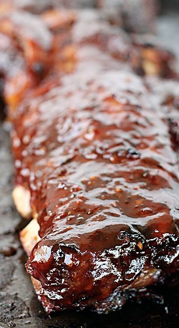 slower cooker BBQ ribs...
