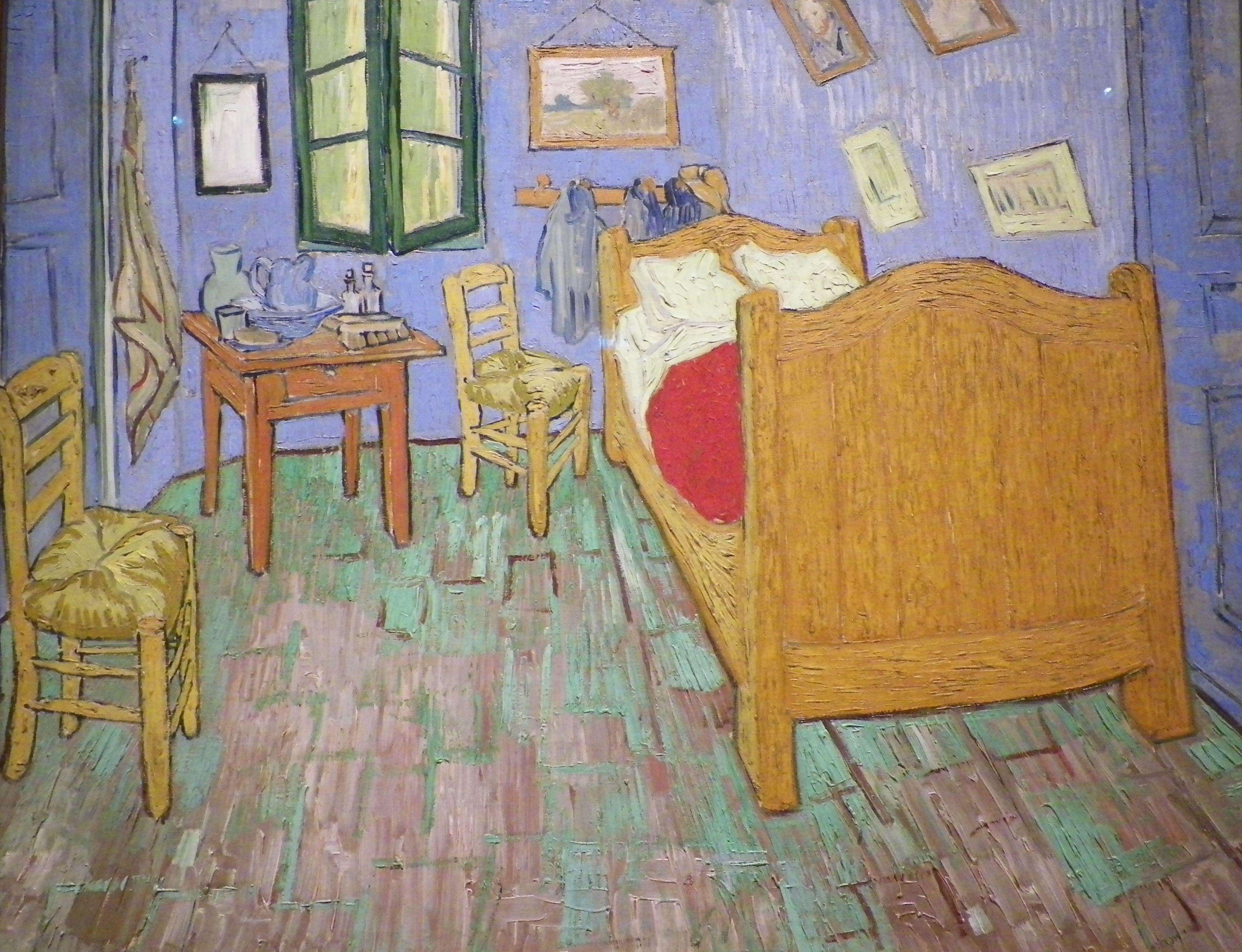 Vincent Van Gogh Bedroom at Arles