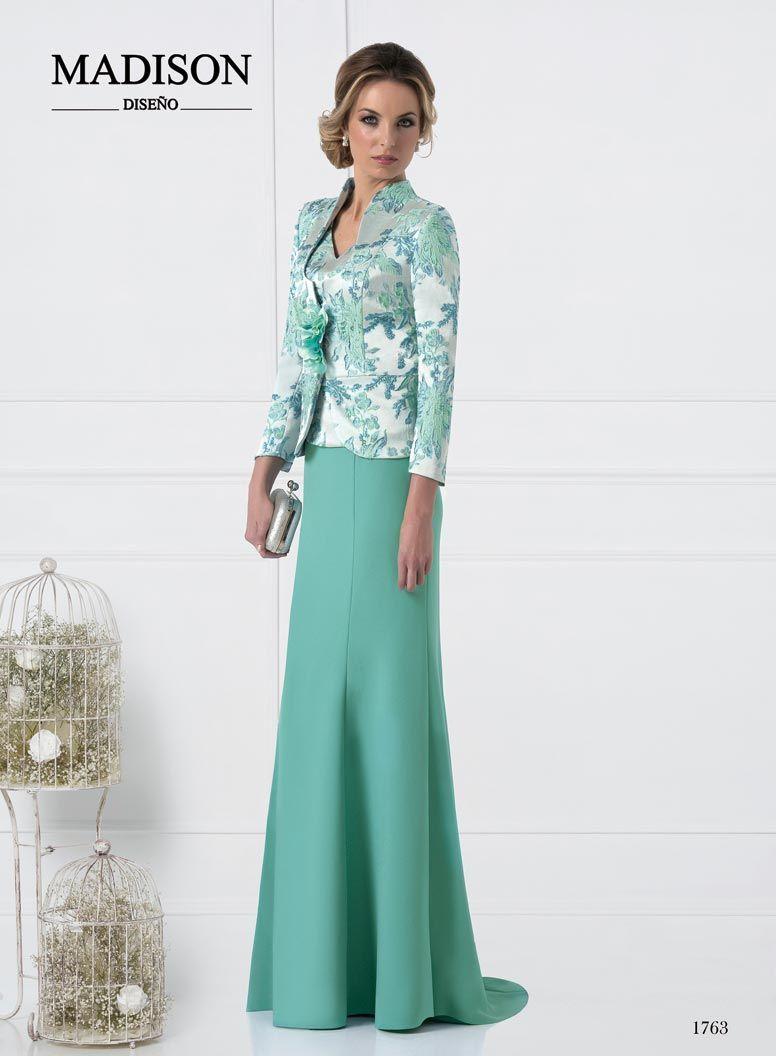 463f4ead2 vestido de fiesta largo color azul con chaqueta