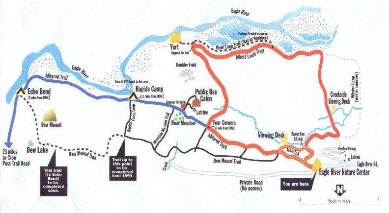 Dew Mound Trail Eagle River Alaska Viewing Deck Backpacking Travel