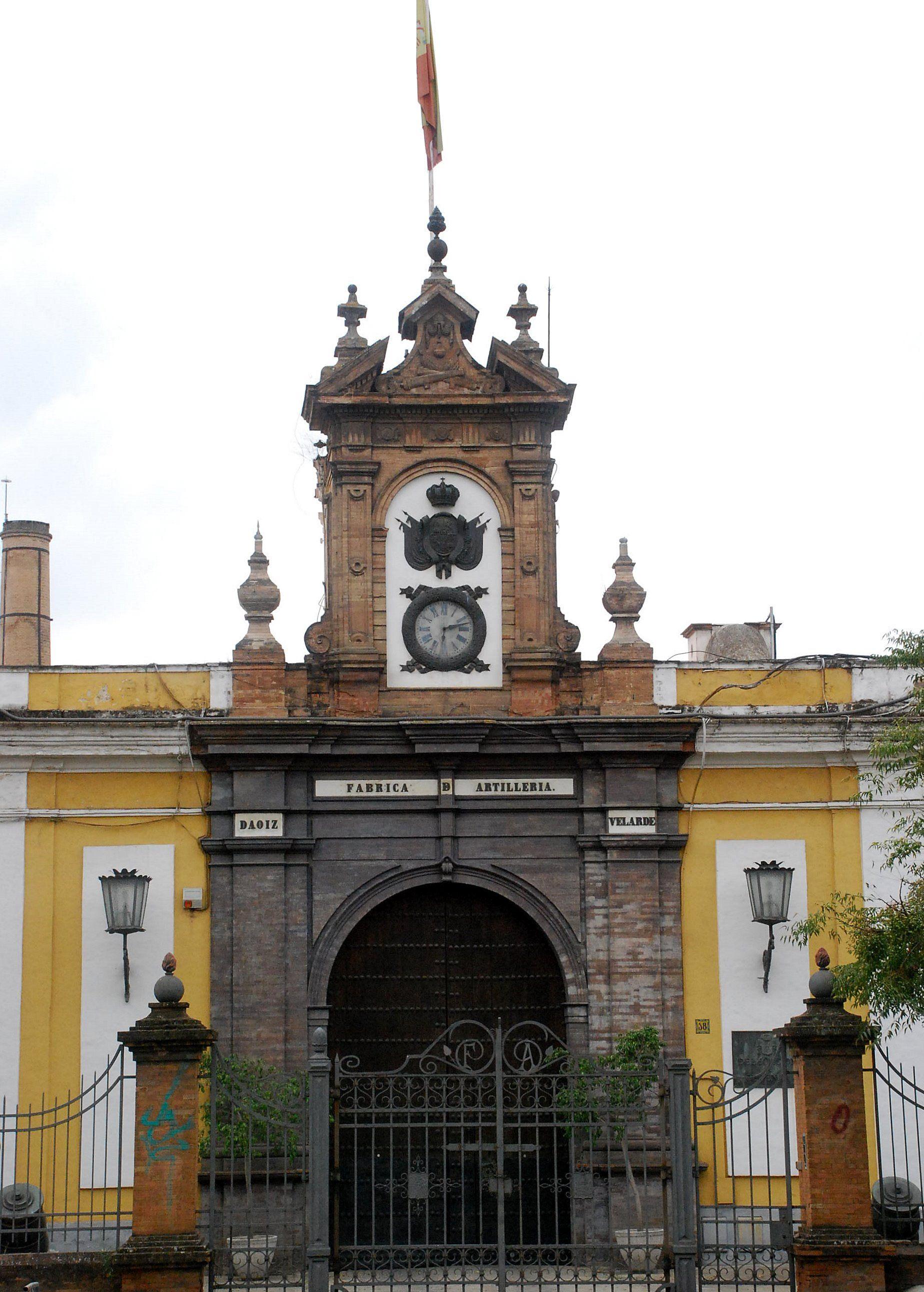 Real Fábrica de Artillería, Sevilla.