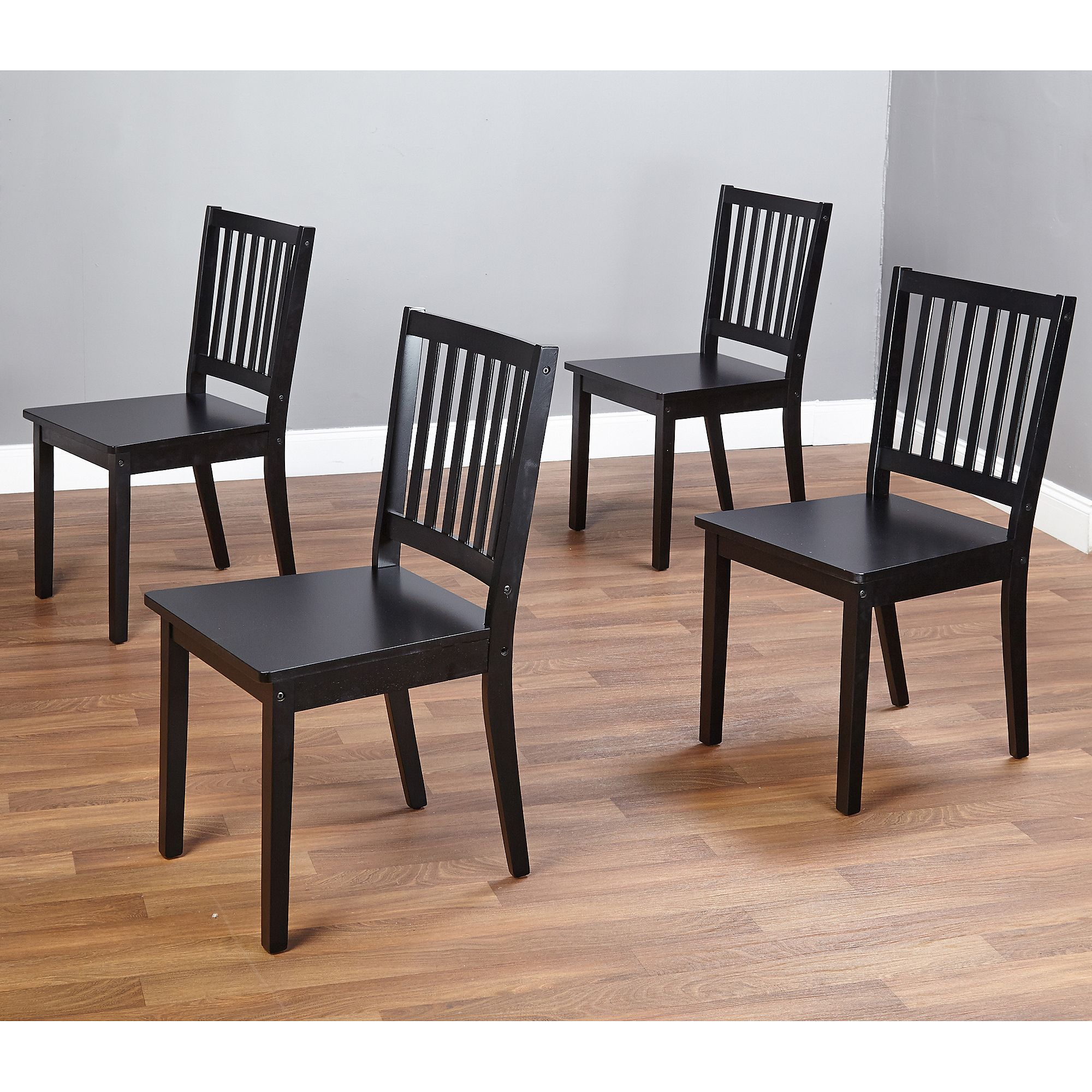 Missionleopoldsidechairsetof2  Dining Room Tables Simple Rolling Kitchen Chairs Design Decoration