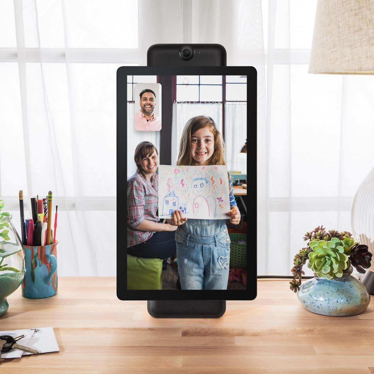 Facebook Portal Screen Amazon Alexa Echo Show Compatible Saucy