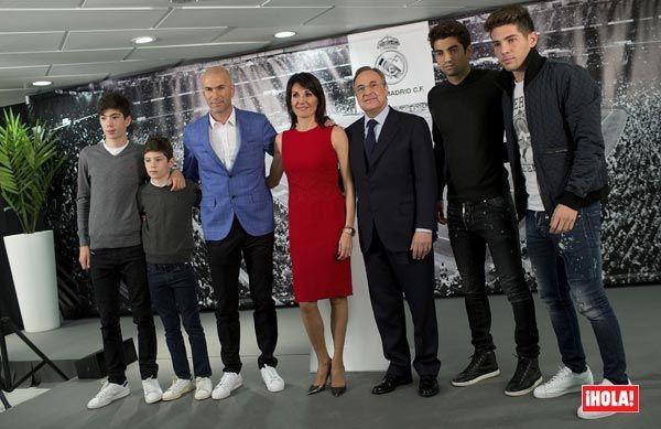 Zidane Nuevo Entrenador Del Real Madrid Conoces A Su Familia Real Madrid Simeone Zidane