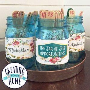 Photo of Das Glas mit den Stellenangeboten {Money Jar} – createdmaryshome.com