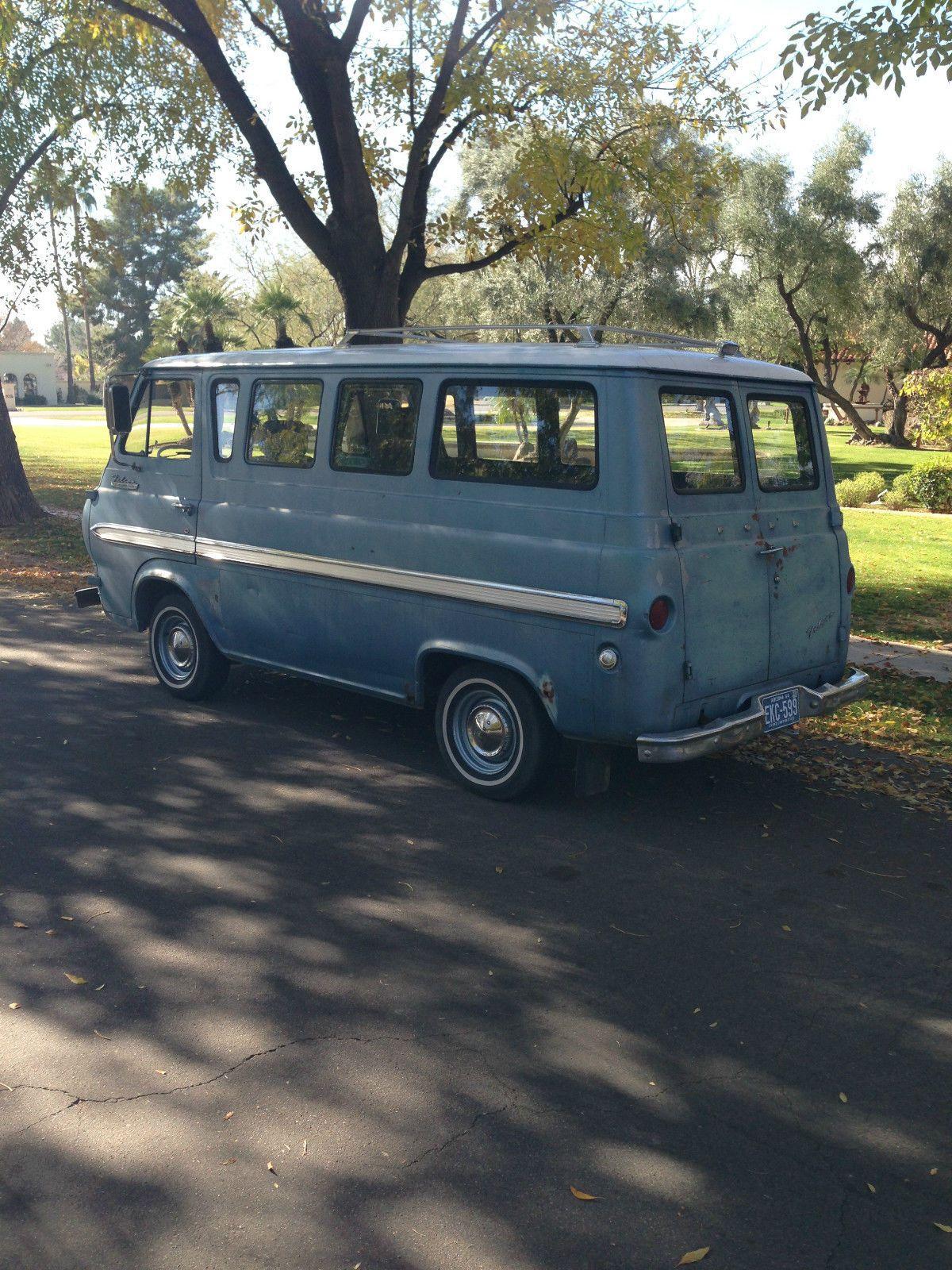 Ford e series van 1964 falcon club wagon econoline