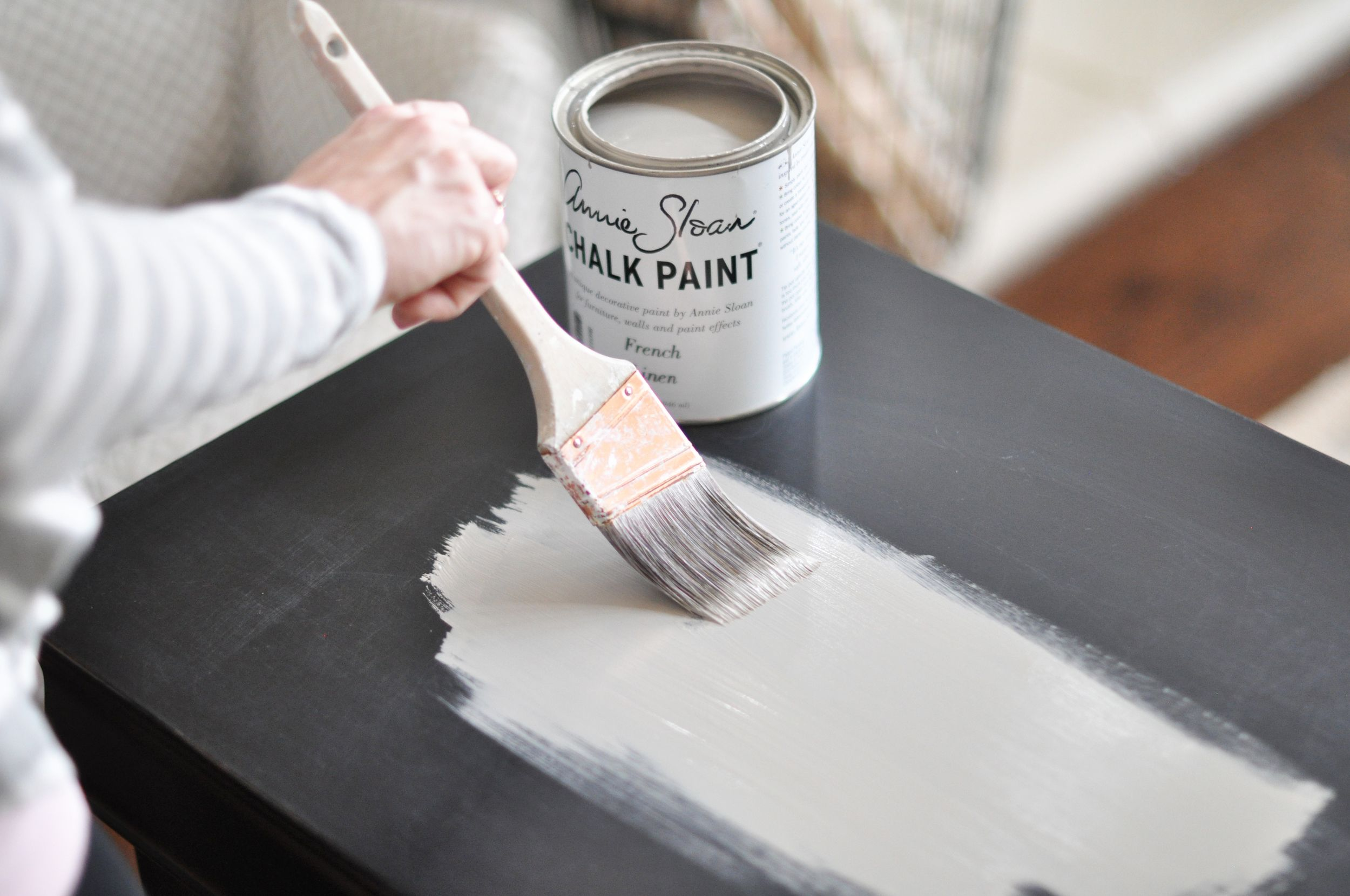 Nightstand Chalk Paint Tutorial With Images Chalk Paint Tutorial