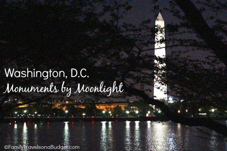 Monuments by Moonlight in Washington, DC. Absolutely