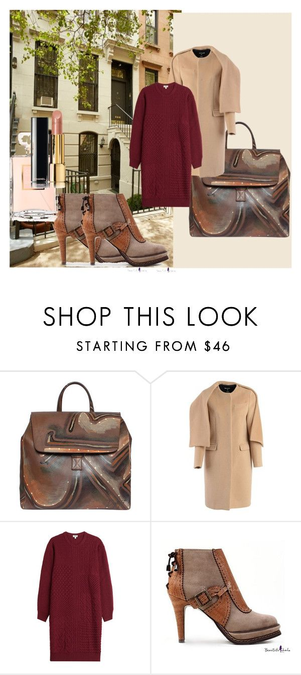 """brownforday"" by aaidaa ❤ liked on Polyvore featuring MSGM, Kenzo and Chanel"