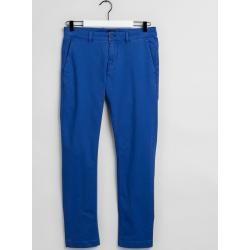 Photo of Gant Light Slim Fit Canvas Chinos (Blue) Gant