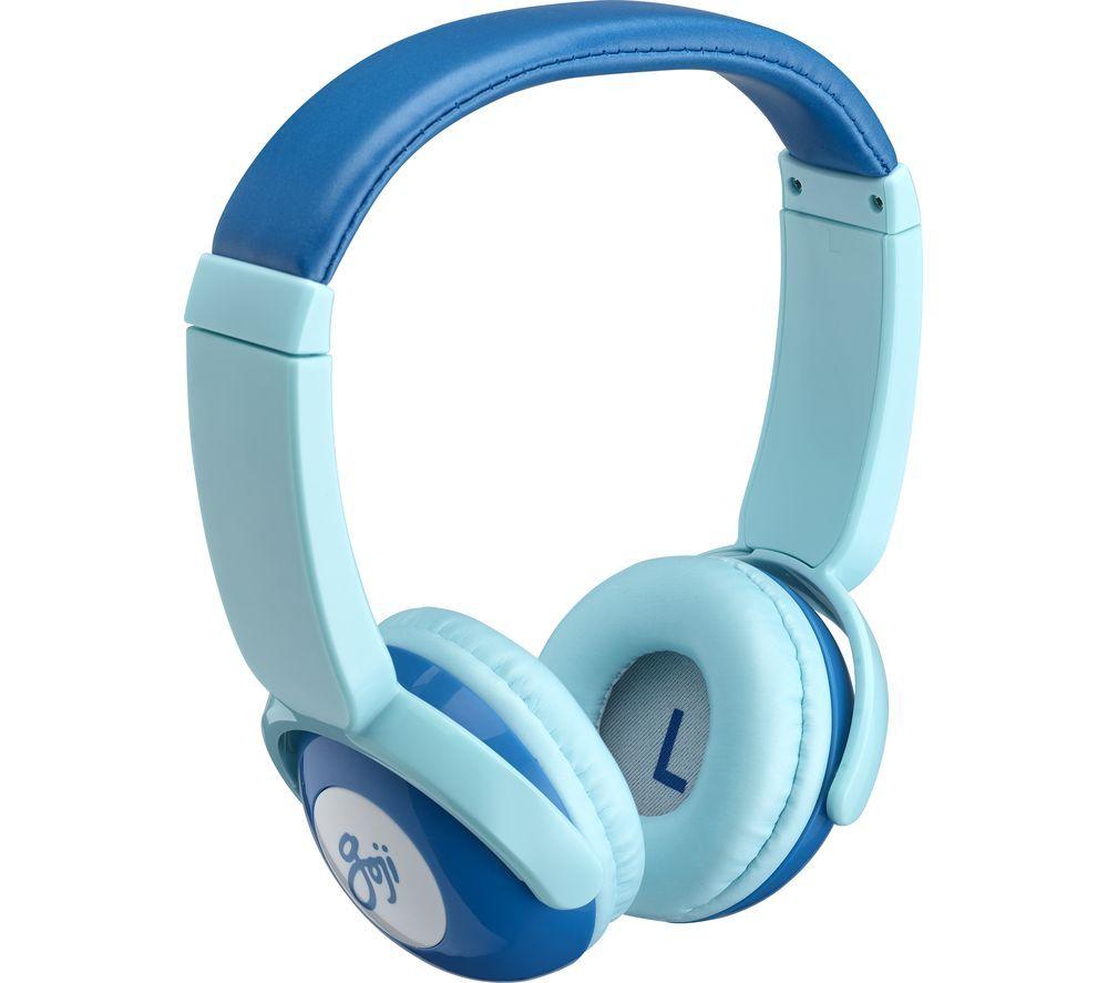 ac07ec2deb7 GOJI GKIDBTB18 Wireless Bluetooth Kids Headphones - Blue | Reece ...