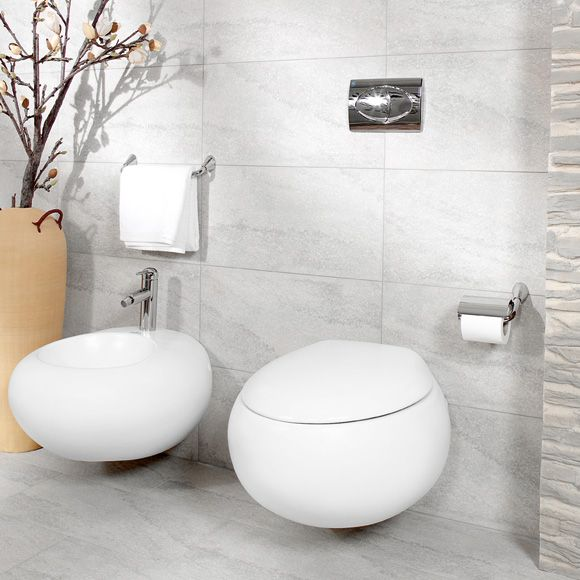 Villeroy boch pure stone miska wc z desk wolnoopadaj c azienka bathroom pinterest for Villeroy and boch bathroom accessories