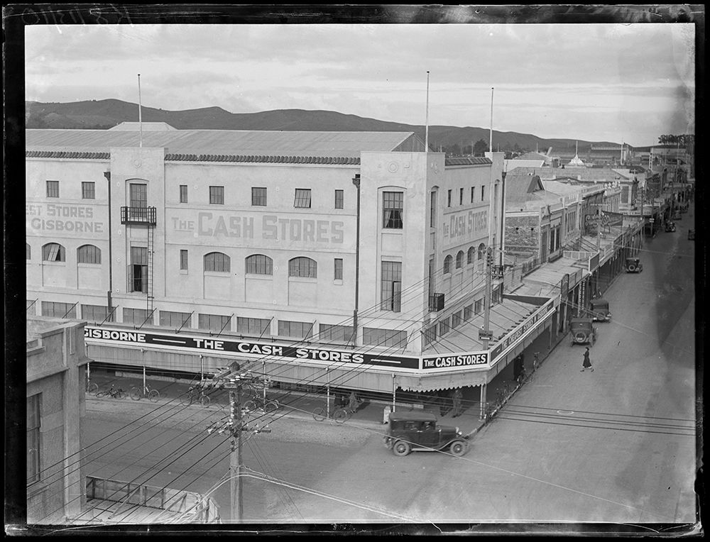 Adairs Building formally Cash Stores Building, Gisborne