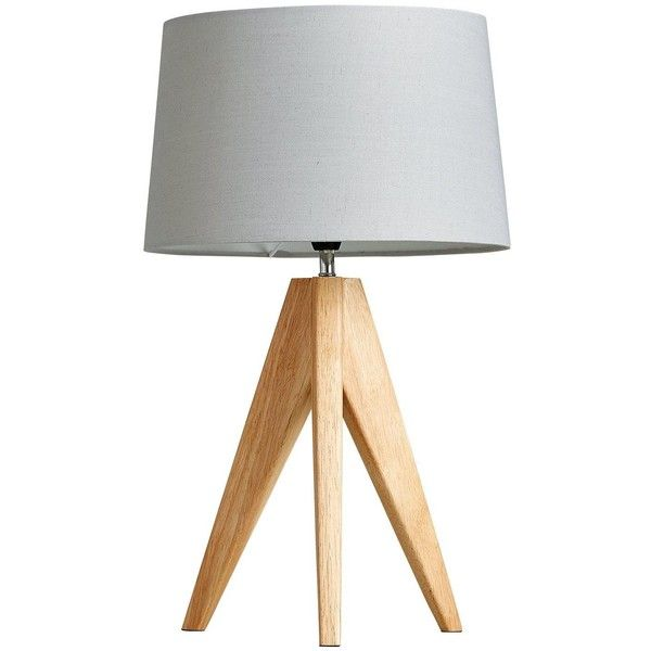 Thea Tripod Table Lamp 37 Liked On Polyvore Featuring Home