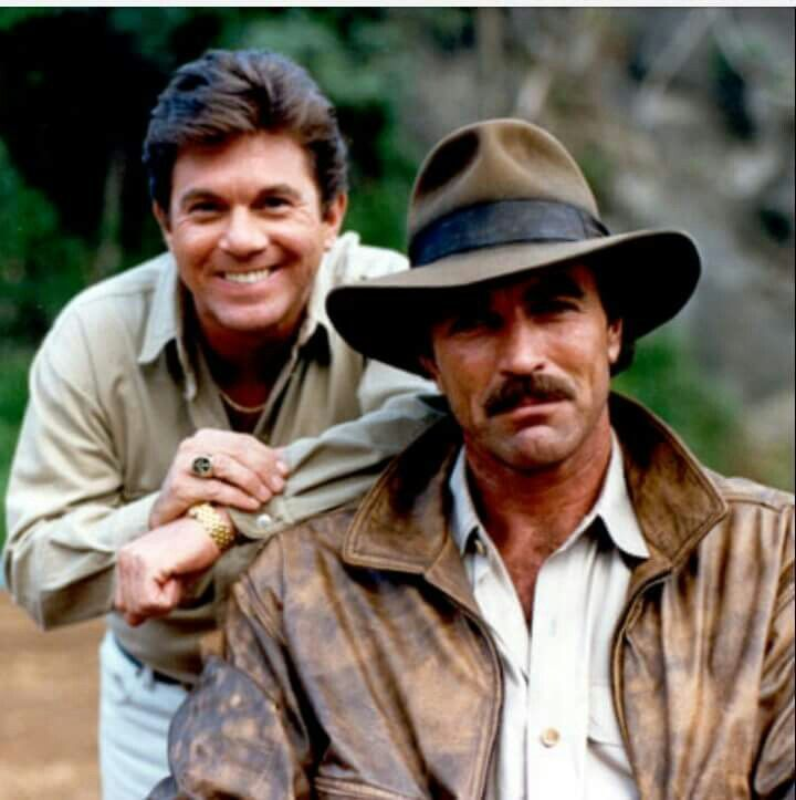 Larry Manetti and Tom Selleck - Magnum, P.I. | Selleck ...