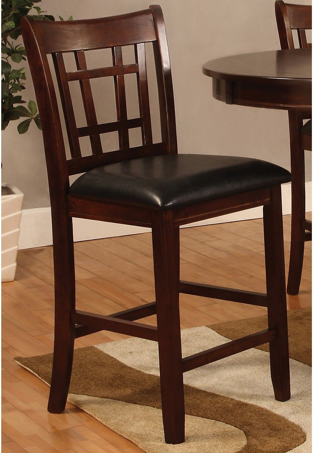 Dalton Chocolate Counter Height Chair The Brick
