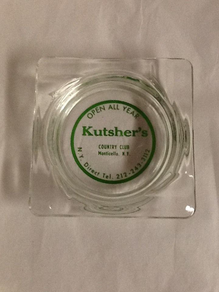 Kutsher S Hotel Country Club Ashtray Monticello New York Borschbelt Catskills