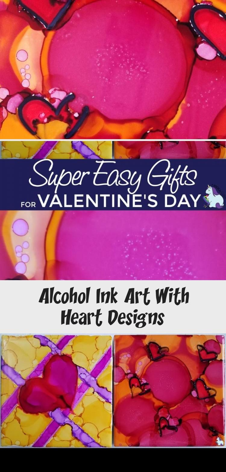 Get creative with alcohol ink. Watercolor art that's so fun to make to give as homemade gifts or home decor. #valentinesday #hearts #art #diy #crafts #ink #tiles #gifts #handmade #homemade #HomeDecorDIYVideosLivingRoom #HomeDecorDIYVideosCheap #HomeDecorDIYVideosProjects #HomeDecorDIYVideosApartment #HomeDecorDIYVideosBedroom
