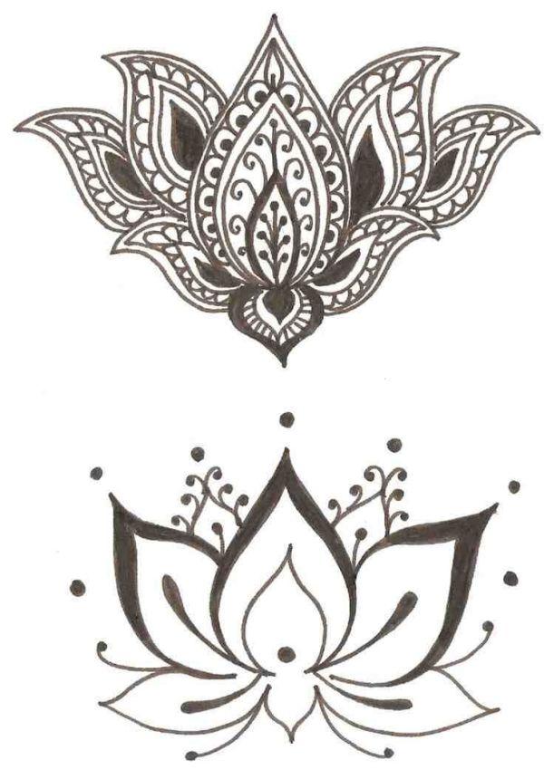 Lotus Bohemian Tattoo Design By Christian Czech Tattoos