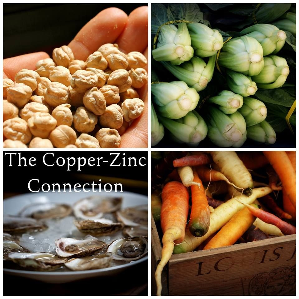 Nutrient Dense Foods and the CopperZinc Connection