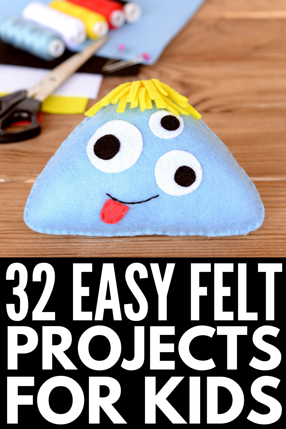 Crafting at Home: 32 Super Fun Felt Projects for Kids -   19 fabric crafts for kids no sew ideas