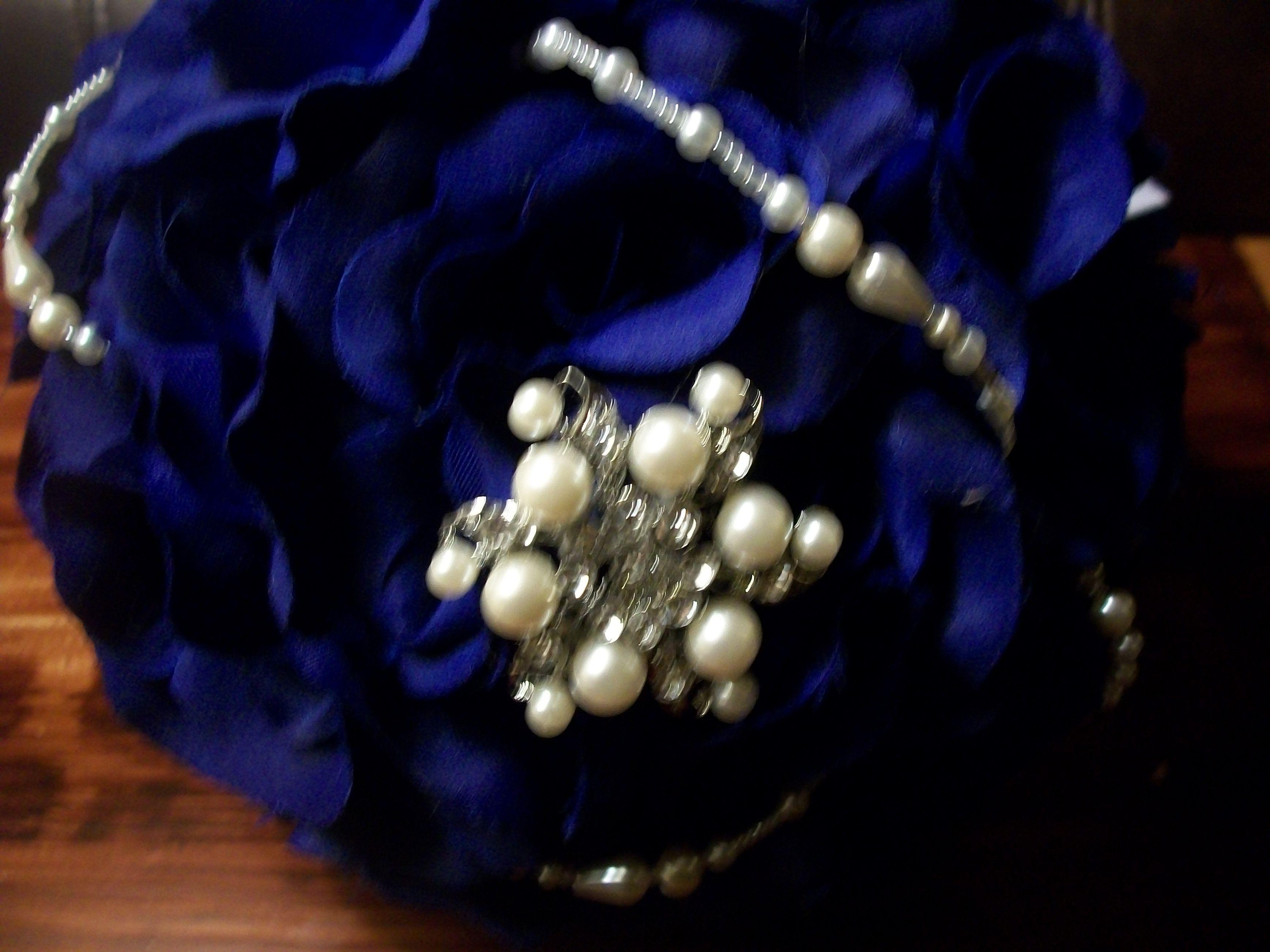 Pearls and brooch. MyGlorifiedLife