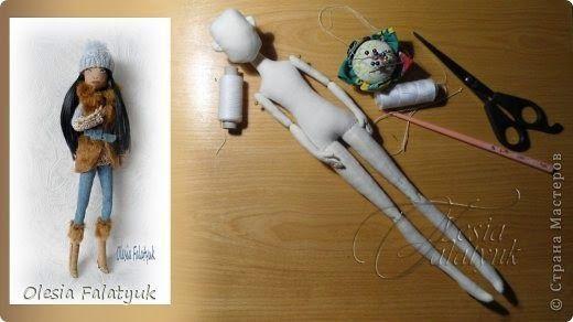 Mimin Dolls: molde doll adolescente e tutorial by Olesia Falatyuk