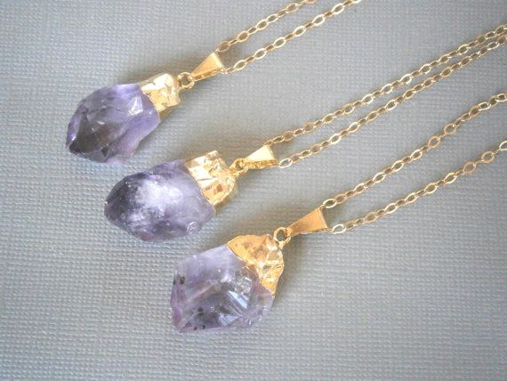 Natural Quartz Jewelry Crystal Point Necklace Long by LisaDJewelry, $32.00