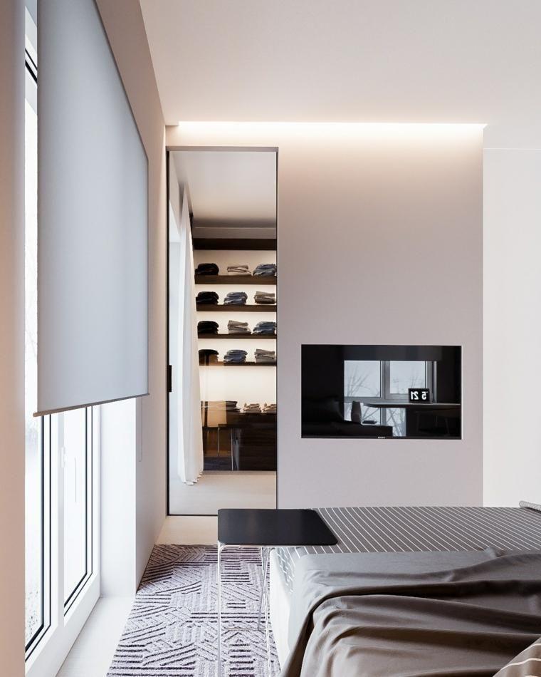 #Interior Design Haus 2018 Minimalistisches Haus Mit Hellen Und  Funktionalen Räumen #Schlafzimmer #Zuhause