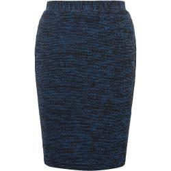 Photo of Tom Tailor women's bouclé skirt, blue, solid color, size 42 Tom TailorTom Tailor