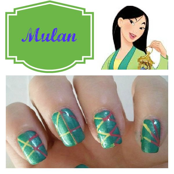 Disney Princess Inspired Nails | Nails decoradas, Manicuras y Esmalte