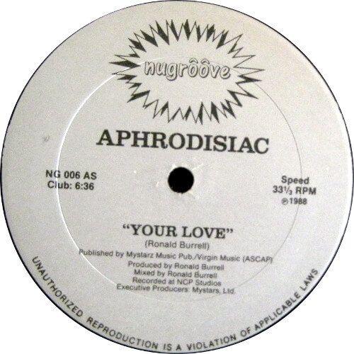 Aphrodisiac Your Love Vinyl Record Store Club Music Record Store