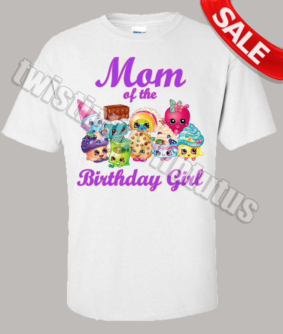 9c1707af Shopkins Birthday Party Ideas | Rainbow Shopkins Birthday Shirts | Shopkins  Birthday Outfit | Shopkins Family