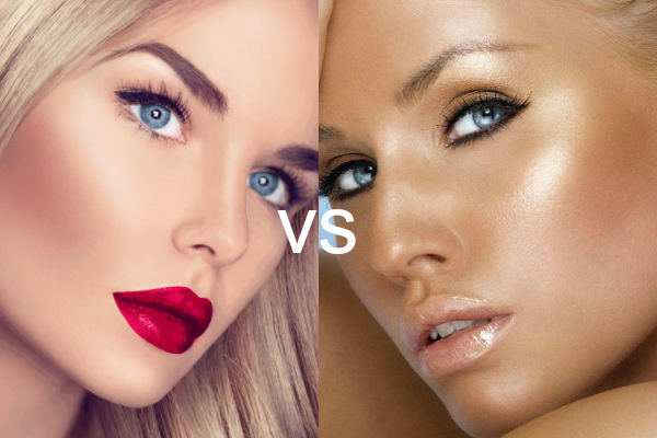 Contouring vs bronzing, know the difference!