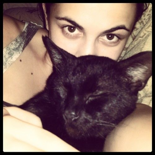 My cat Nero & me :)
